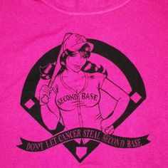 Breast cancer shirts:)
