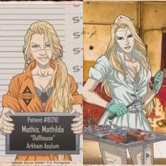Comic Villains, Dc Comics Characters, Novel Movies, Comic Anime, Mundo Comic, Arkham Asylum, Dc Memes, Batman Family, Batman Arkham