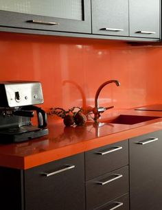 Laminate kitchen cabinet ideas from Fresh Home Ideas.