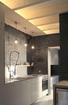 Cielo Raso e iluminación cocina
