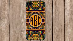 Personalized Monogram Russian Hohloma Floral for iPhone 4/4s/5/5s/5c Samsung Galaxy S3/S4/S5/Note 2/Note 3 by TopCraftCase, $6.99