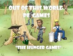 The Hunger Games- physical education game - Out of this World PE Games!