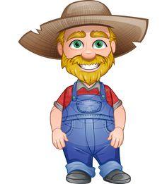 8 Best Farmer Vector Cartoons Images Animated Cartoon