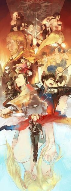 Anime: Fullmetal Alchemist: Brotherhood This is a verry cool fanart so I pined it. Manga Anime, Fanart Manga, Manga Art, Anime Art, Full Metal Alchemist, Fullmetal Alchemist Brotherhood, I Love Anime, Awesome Anime, Awesome Art
