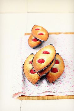 Financiers Framboise-citron