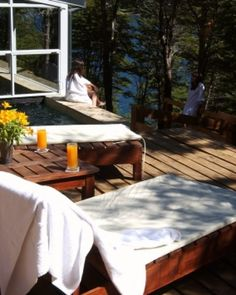 Aldebarán Hotel & Spa  ( Bariloche, Argentina )  After a day of Patagonian adventuring, the Aquarius spa is a welcome respite. #Jetsetter #JSSpa