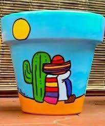 Mexican terracotta pot - All About Flower Pot Art, Mosaic Flower Pots, Mosaic Pots, Flower Pot Crafts, Clay Pot Crafts, Cactus Flower, Pebble Mosaic, Painted Clay Pots, Painted Flower Pots