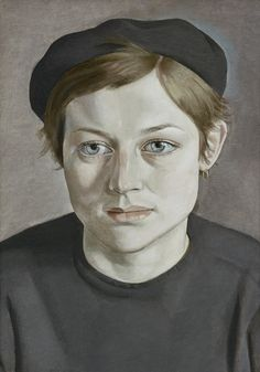 Girl with Beret (1951-52), Lucian Freud