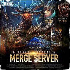 Hai ProGamers !    DivoSaga Indonesia akan melakukan Merge Server S7-S9 ( Bloodlands, Yaros, dan Apocalypse )    Persiapkan diri kalian dan baca info-info mengenai merge server  Info: http://goo.gl/gAihhE   PLAY NOW: http://goo.gl/yyBlhj    #WeGotGames http://prodigy.co.id/  Follow Us On Instagram @prodigy.infinitech http://bit.ly/iProdigy