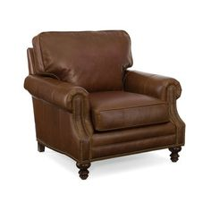 Bradington-Young Aaron Arm Chair Finish: New Classiques, Upholstery: 907000-88