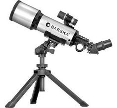 Telescopio BARSKA 40070 Refractor Compacto con maletín y trípode http://guatemaladigital.com/Producto.aspx?Codigo=9787