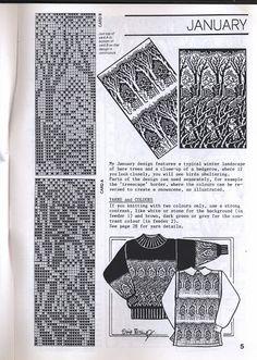 Ирис бишоп животные - Наталья Сальникова - Picasa Web Album Knitting Machine Patterns, Fair Isle Knitting Patterns, Fair Isle Pattern, Knitting Charts, Loom Knitting, Knitting Designs, Knitting Stitches, Knit Patterns, Stitch Patterns