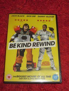 Be Kind Rewind (DVD, 2008) Jack Black, Mia Farrow, Mos Def