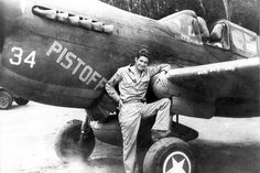 P-40 pilot Don Lee, Pacific