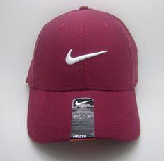 Nike Hats Maroon