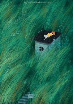 Landscape Illustration, Illustration Art, Les Orphelins Baudelaire, Sketchbook Inspiration, Cute Wallpaper Backgrounds, Anime Scenery, Illustrations And Posters, Cute Art, Art Inspo