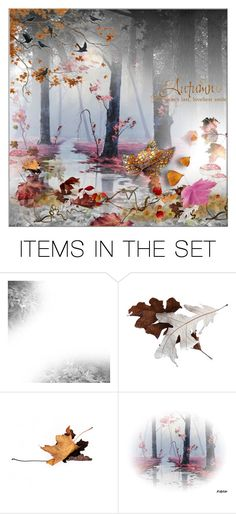 """Autumn, the years last loveliest smile"" by frenchfriesblackmg ❤ liked on Polyvore featuring art"