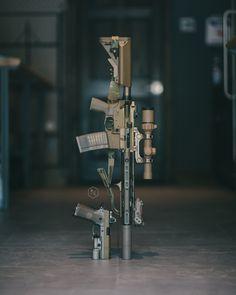 GUNPORN Tactical Rifles, Firearms, Shotguns, Weapons Guns, Guns And Ammo, Combat Gear, Gun Art, Tactical Equipment, Custom Guns