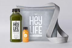 HEYLIFE Cold Pressed Juices — The Dieline - Branding & Packaging