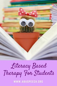 Literacy based therapy for students is a fun and functional way to target student communication goals. Rosemarie Griffin discusses how she uses literacy based activities in therapy. This blog post includes a free literacy based data collection, to make progress monitoring a breeze. #literacy #speechtherapy