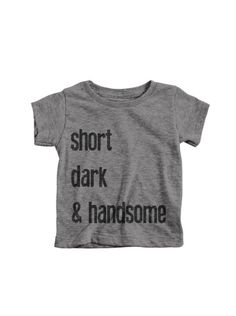 A personal favorite from my Etsy shop https://www.etsy.com/listing/456091752/cool-baby-clothes-funny-baby-shower-gift