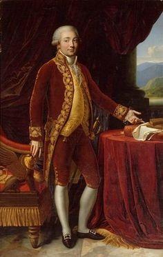 Carlo Maria Bonaparte (Father of Napoleon Bonaparte) ~ 1806 ~ Anne-Louis Girodet de Roussy-Trioson - Wikipedia