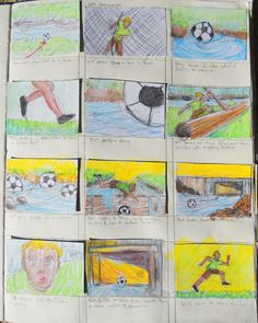 Page 8 of Trollie storyboards from sketchbook