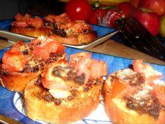 Anchovy & Sun-Dried Tomato Bruschetta