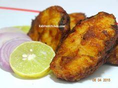 Simple and Easy Fish Fry-Bengali Rohu Fish Fry-Maach Bhaja