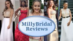 Top 10 Affordable Prom Dresses from MillyBridal | Party, Evening & Forma...