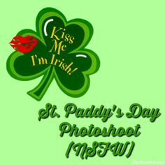 Bedroomial - Sex toys, silliness, and smutty stories!: St. Patrick's Day Photoshoot (NSFW)