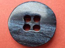 11 kleine KNÖPFE dunkelblau 15mm (6520-6) Knopf