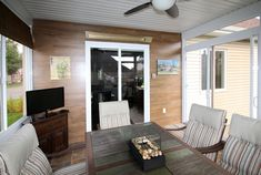 Véranda Plus - Solarium 3 Saisons et plus Surface Habitable, Patio, Outdoor Decor, Design, Home Decor, Slider Window, Cornices, Homemade Home Decor, Yard