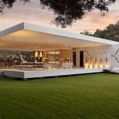 modern outdoor home
