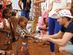 Twins Team in Cameroon for our Shoe Project