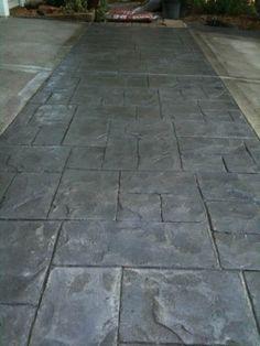 Acid Stained Concrete Patios - Woodbury, Minnesota - Mohscrete Concrete Works