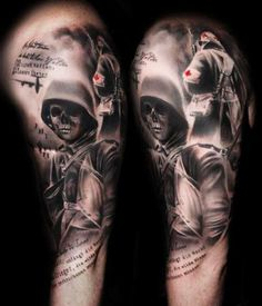1000 images about war tattoo on pinterest world war war and soldiers. Black Bedroom Furniture Sets. Home Design Ideas
