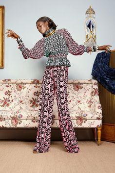 Duro Olowu Spring/Summer 2015 @ LFW ~African fashion, Ankara, kitenge, African women dresses, African prints, African men's fashion, Nigerian style, Ghanaian fashion ~DKK