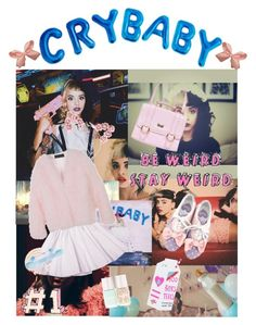 """""""CRYBABY"""" by cysha ❤ liked on Polyvore featuring Twenty, Maison About, Valfré, women's clothing, women's fashion, women, female, woman, misses and juniors"""