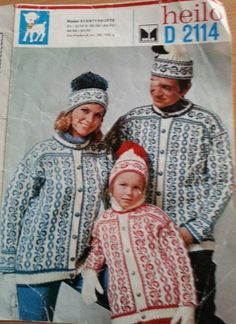 Eventyrkofte D2114 Norwegian Knitting, Colour Combinations, Nye, Norway, Diy And Crafts, Knitting Patterns, Winter Hats, Crochet Hats, Craft Ideas