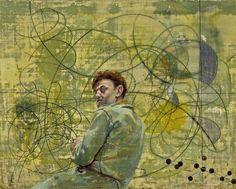 Hans Erni: Selbstbidnis mit Molekularstruktur, 1946