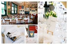 Spring wedding venue details at Islington Town Hall and The Peasant in Clerkenwell London