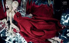 Daria Strokous in 'Garden of Earthly Delights' by Emma Summerton, Vogue China