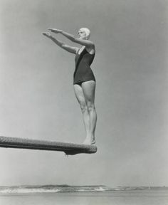 Edward Steichen - Jane Fauntz (Olympic Team), c1930.
