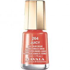 Mavala nail polish in Juicy 264