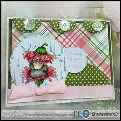 Passionate Paper Creations: Rain Flower - Stampendous