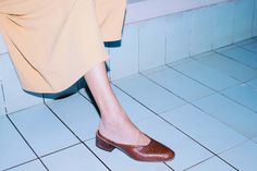Mari Giudicelli, Muse to Your Favorite Brands, Launches a Luxury Shoe Line in December 2015.  (=)