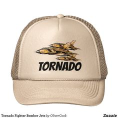 Tornado Fighter Bomber Jets Cap