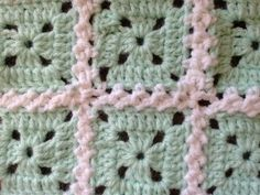 This is a beautiful join! This method is perfect for all squares with rough edges. It's easier than sewing and it looks much nicer. This How To Attach Granny Squares With Cable Stitch video tutorial, courtesy of Bronislava Slagle is done in such a way that it's easy for a beginner to pick up the techniques …