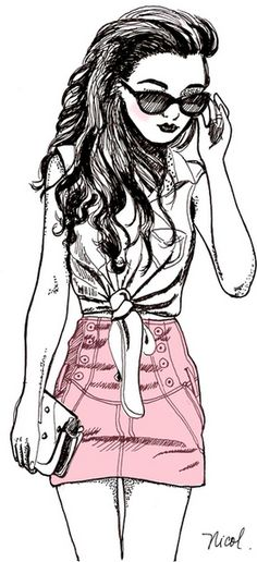 girl drawing | Tumblr